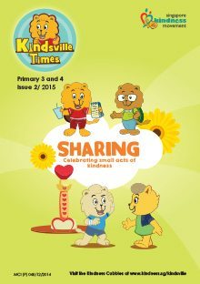 Sharing – 2015 Kindsville Times Adventures