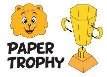 Paper Trophy