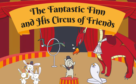 Read The Fantastic Finn and His Circus Friends (with Audio-visual)