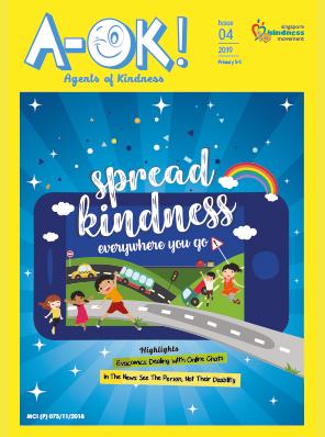 Read Spread Kindness everywhere you go now