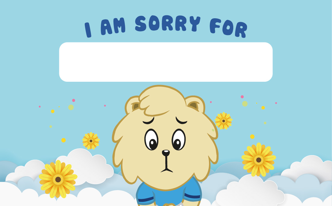 View I'm Sorry Card